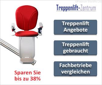 Bundesweite und regionale Treppenlift-Anbieter vergleichen